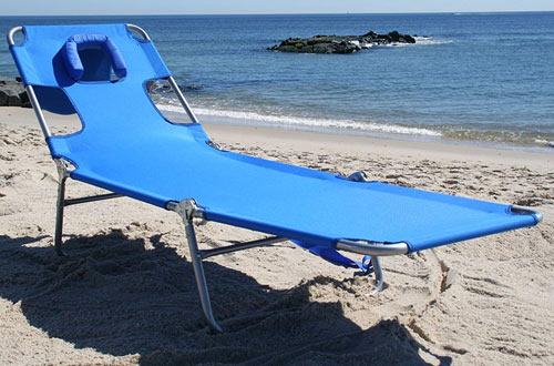Ostrich Folding Beach Lounge Chaise