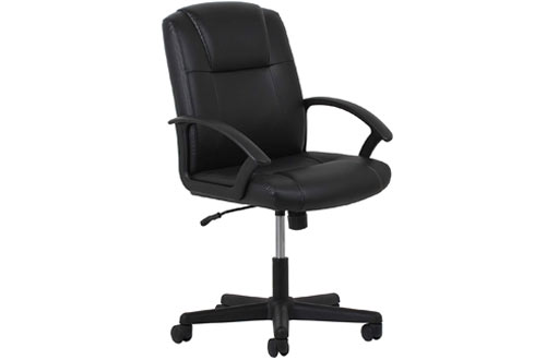 OFM Essential Leather Ergonomic Executive Office and Computer Chair