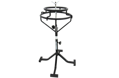 Pit Posse Wide & Sturdy Motorcycle Tire Changing Stand