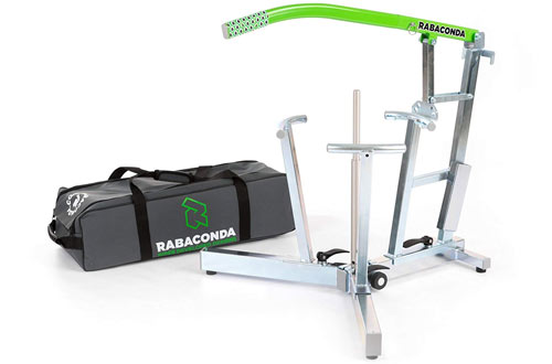 Rabaconda Motorcycle Tire Changer Machine - Motorcycle Tire Changing Tools
