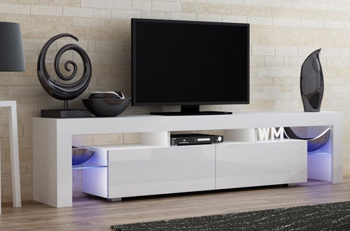 Concept Muebles TV Stand Milano & Modern LED TV Cabinet in Living Room Furniture