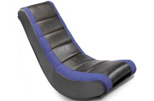 Crew Furniture Classic Black Blue Video Rocker Chair