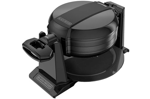 BLACK and DECKER Rotating Waffle Maker - WMD200B