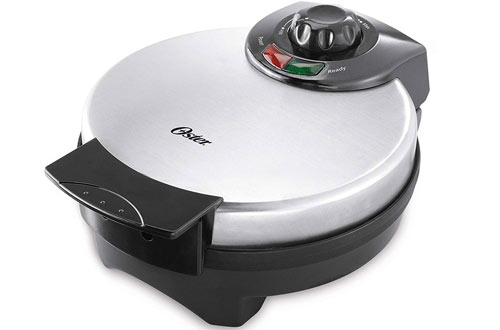 Oster Belgian Stainless Steel Waffle Maker