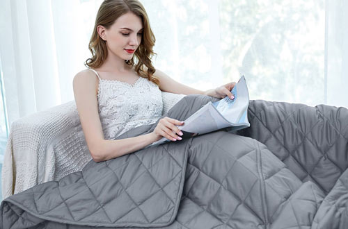 ZZZhen Durable Quilts and Quality Weighted Blanket