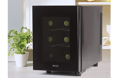 Commercial Cool CCWT060MB Thermal Electric Small Wine Cellar