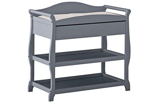 Storkcraft Aspen Changing Table with Drawer and Changing Pad