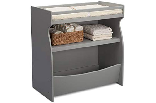 Delta Children 2-in-1 Diaper Changing Table and Storage Unit
