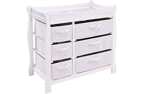 Costzon Baby Diaper Changing Table
