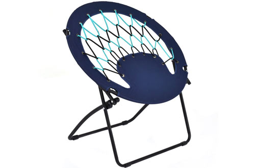 Giantex Folding Outdoor Round Web Portable Bungee Chair