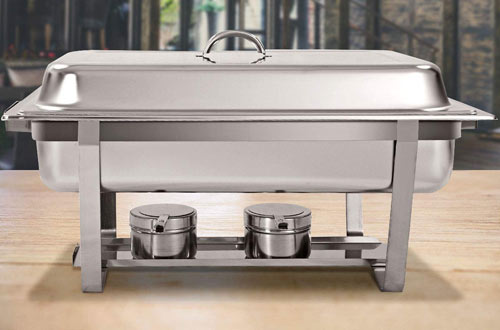 Giantex Stainless Steel Rectangular Chafing Dish Set