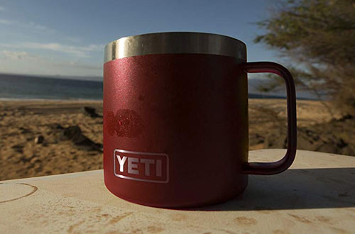 YETI Rambler Stainless Steel Vacuum Insulated Mug Lid