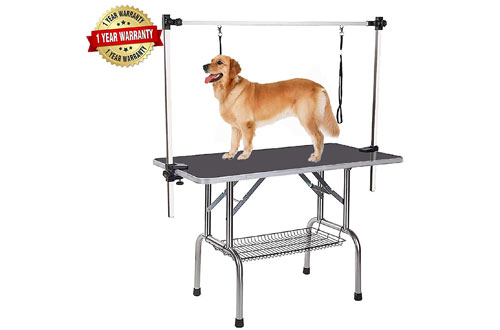 Professional Adjustable Heavy Duty Dog Pet Grooming Table