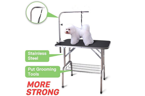 Polar Aurora Pingkay Heavy Duty Professional Foldable Grooming Table