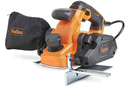 VonHaus 7.5 Amp Electric Wood Hand Planer Kit