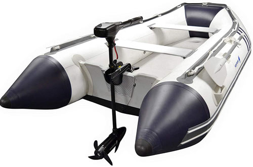 Newport Vessels NV-Series 55lb Thrust Saltwater Transom Mounted Trolling Motor
