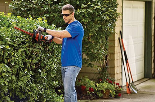 BLACK and DECKER LHT341FF 40V MAX Lithium Powercut Hedge Trimmer