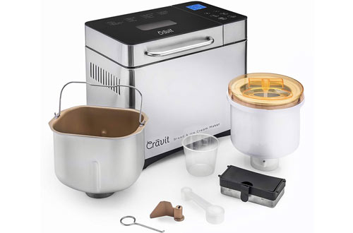 Cravit Bread Maker with Homemade Ice Cream Maker
