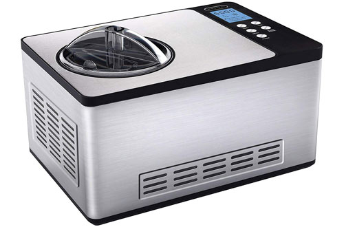 Whynter ICM 200 LS Stainless Steel Ice Cream Maker