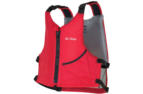 Onyx Universal Red Paddle Life Vest
