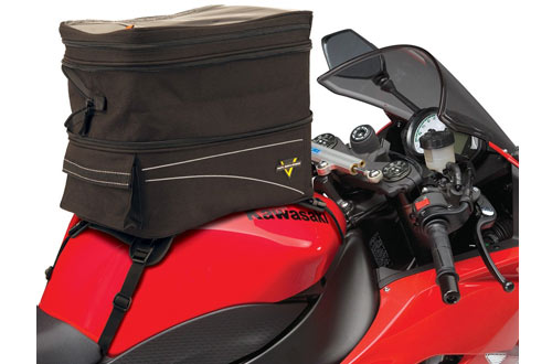 Nelson-Rigg CL-903 Black Expandable Tank/Tail Bag