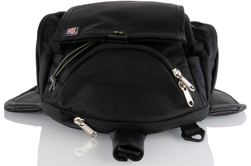 ChaserHarpe USA 6XM Expandable Black Water-Resistant Tank