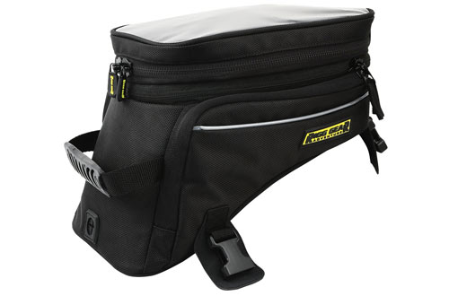 Nelson-Rigg Black Holds Trails End Adventure Motorcycle Tank Bag