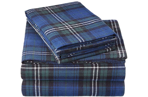 Top 10 Best King Queen Size Flannel Sheets Reviews In 2020