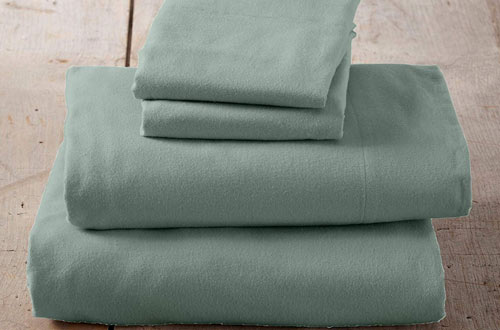 Great Bay Home Extra Soft 100% Turkish Cotton Lightweight Winter Bed Sheets